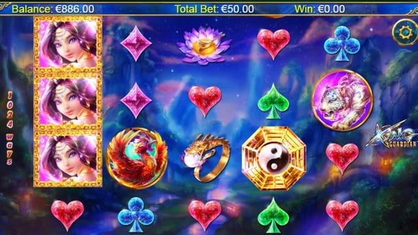 Символы игры в автомате Xing Guardian